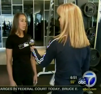 Lauren Kern on Channel 7 News