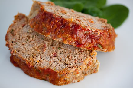 RECIPE: TURKEY MEAT LOAF – Serves 6