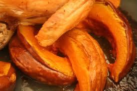 Recipe: Roasted Pumpkin Wedges