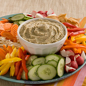 Home-Made Hummus Makes it Easier to Eat Your Veggies!