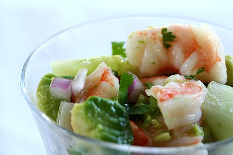 Recipe of the week: Shrimp and Avocado Ceviche Cups