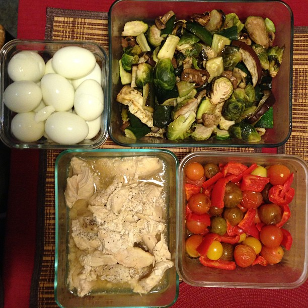 Prep 4 days worth of food in less then 1 hour!