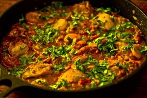 Recipe: Moroccan Tangine Chicken