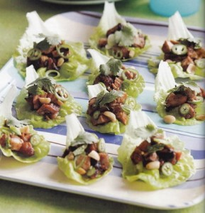 Recipe: Grilled Hoisin Chicken in lettuce cups