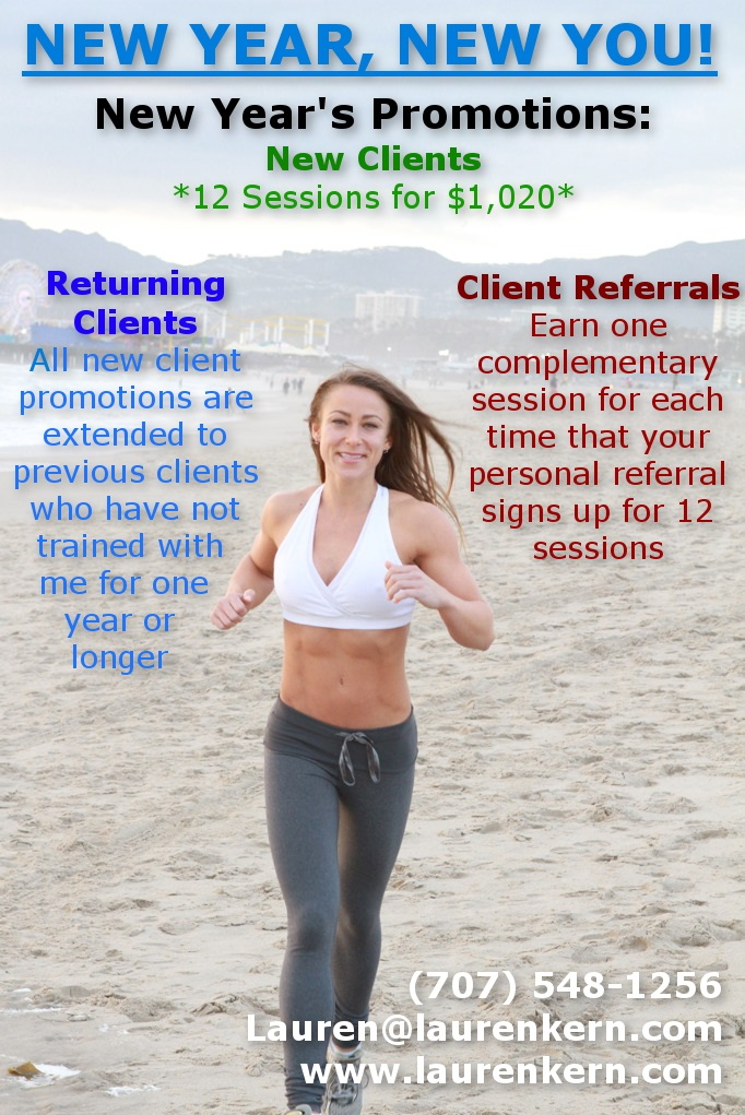 2015 Personal Training Promotions