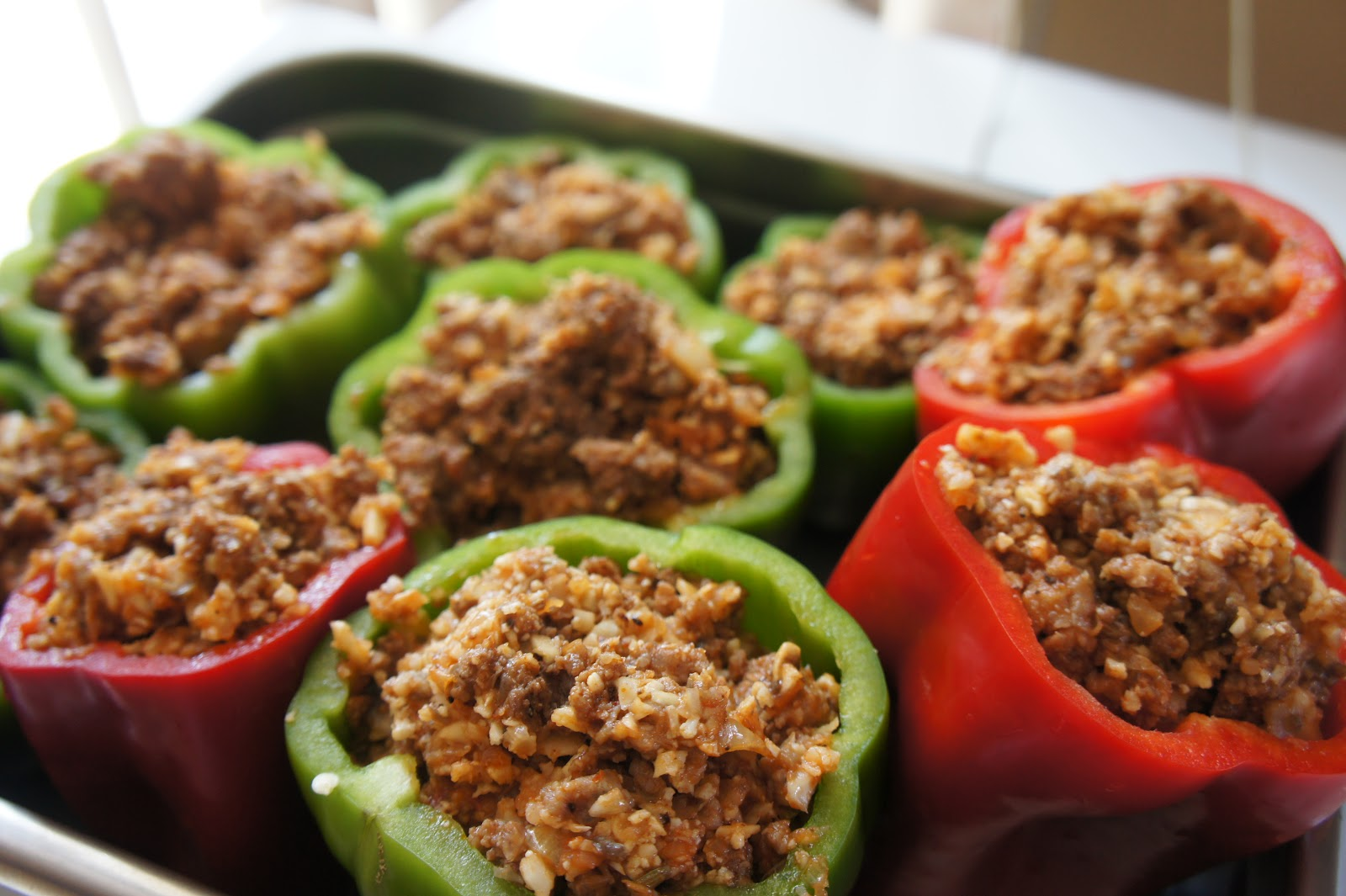 Protein-Stuffed Bell Peppers
