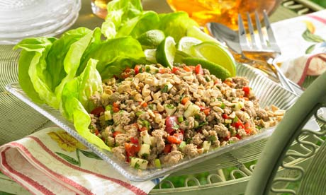 Recipe: Thai Chicken (or turkey) Larb